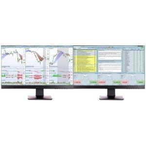 Station de trading 2 écrans