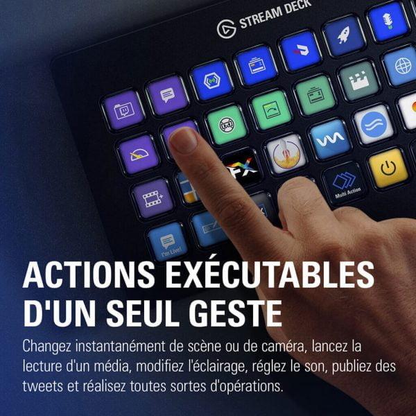 Stream Deck action exécutable